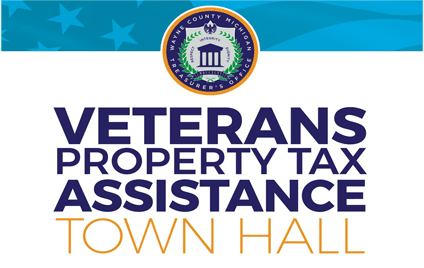 Veterans Property Tax Assistance Town Hall News Flash