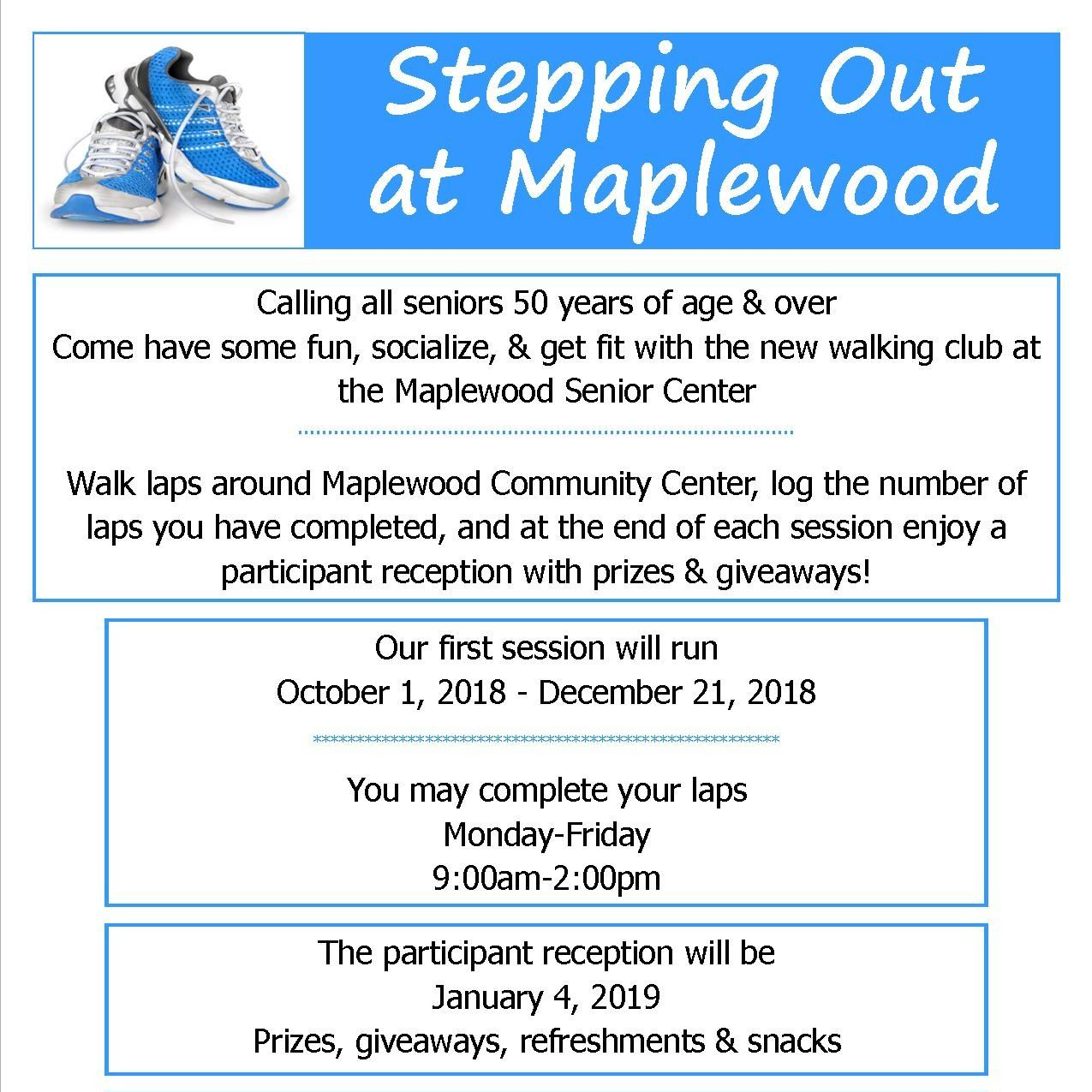 Stepping out at Maplewood small
