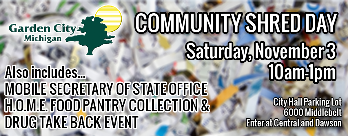 Community Shred Day NOV 18