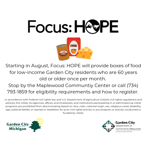 Focus Hope Blurb