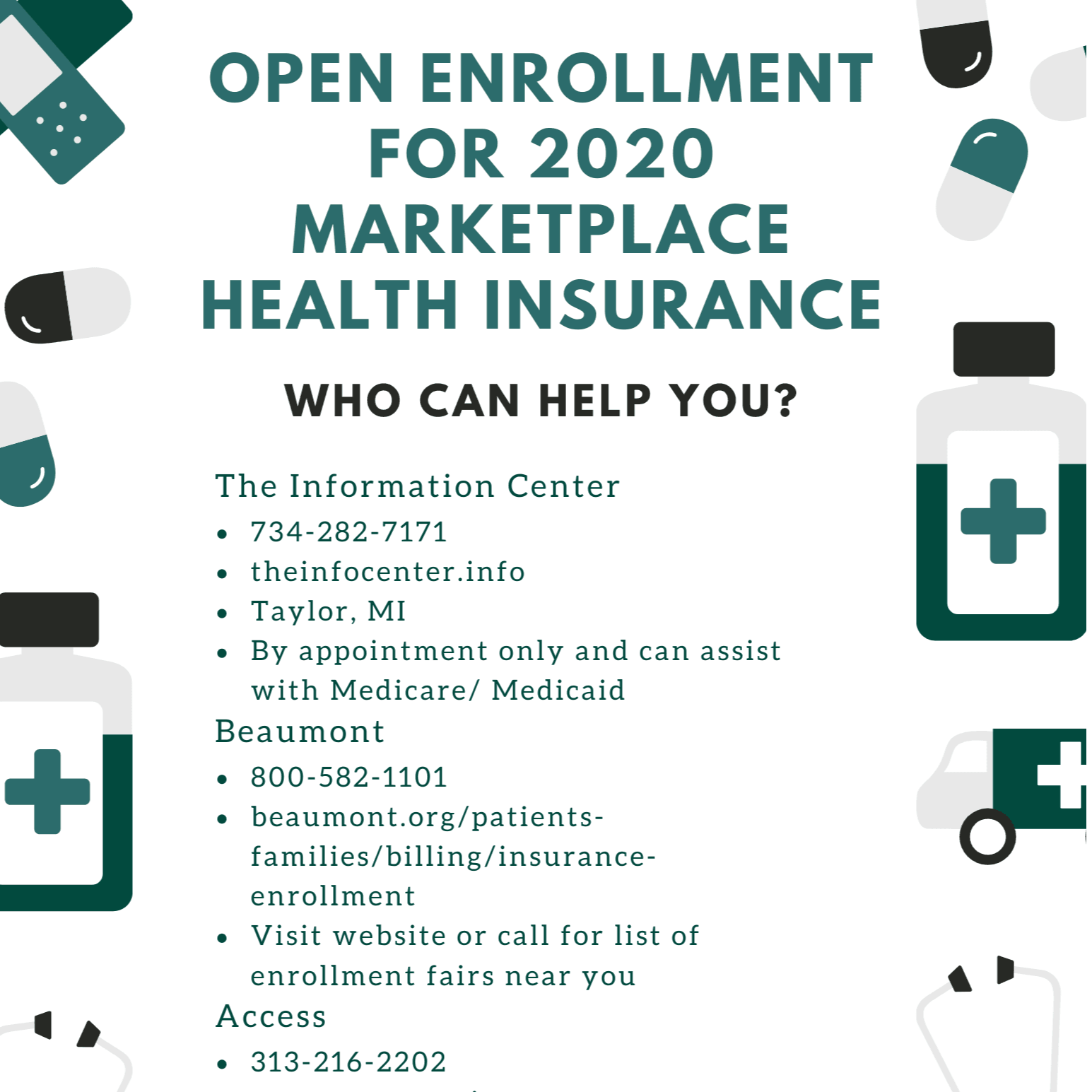 Open Enrollment for 2020 Marketplace Insurance (1)