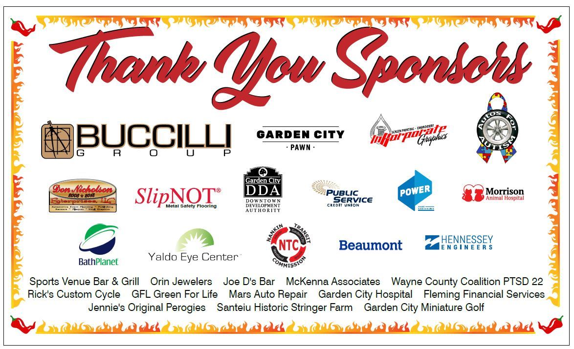 Thank you sponsors!