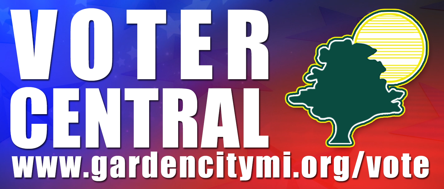 Garden City Voter Central Webpage