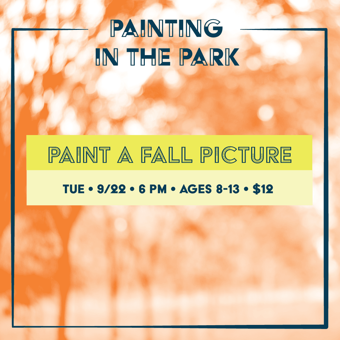 Painting in the Park Sept Flyer